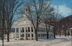 Windham County Court House Postcard