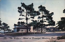 The Wilkie's Motel on beautiful Monterey Bay Postcard