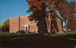 Bogue Hall, Green Mountain, A Two-Year College for Women Postcard