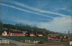 Wellsville Motel Postcard