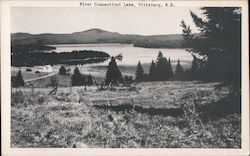 First Connecticut Lake Postcard