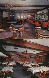 Iron Horse Restaurant, Norwood, Massachusetts Postcard