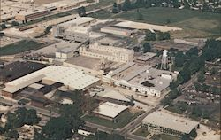 Bird's Eye view of Moorman Mfg. Co. Postcard