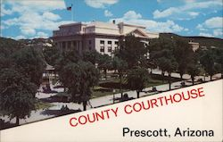 Yavapai County Court House Postcard