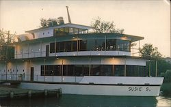 The Susie S, Recreation Center in a ship on Clear Lake, CA