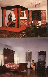 Interior Views of Cheshire Inn & Lodge Postcard