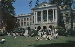 Bascom Hall, University of Wisconsin Postcard