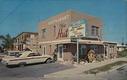 The Hut Restaurant & Apartments Postcard