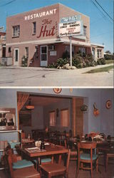 The Hut Restaurant, North Redington Beach, Florida Postcard