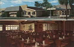 Aunt Hattie's Family Restaurant Postcard