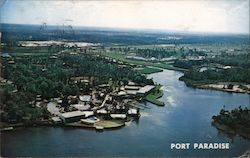 Aerial view of Port Paradise