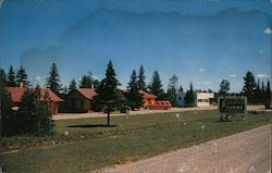 Sassin's Resort on the Shore of Beautiful Grand Lake Postcard