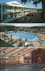 Tidewater Motor Lodge Postcard