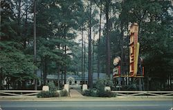 Whispering Pines Motel-Hotel Postcard