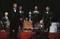 Hall of Presidents, address by Abraham Lincoln Postcard