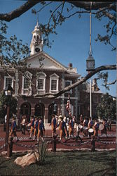 The Sons of Liberty - Disney World Postcard