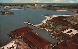 The Polynesian Village Resort Postcard