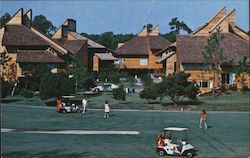Fairway Villas, golf course, houses Postcard