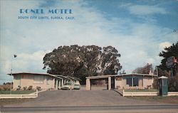 Ronel Motel Eureka California Postcard