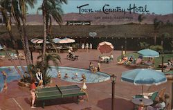 Town and Country Hotel Postcard