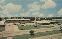 Holiday Motel and Restaurant Postcard