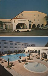 Aztec Inn, pools Postcard