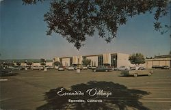 Escondido Village mall Postcard