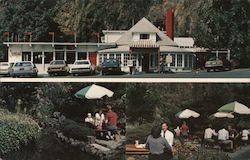 The Carnival Restaurant, outdoor dining Postcard