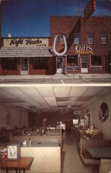Night hawk Cafe, gift shop & rodeo room Postcard