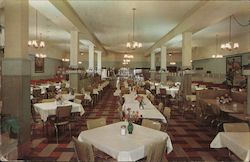 Buckley's Glendale Cafeteria Postcard