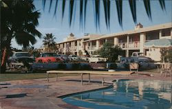 Desert Inn, pool Postcard