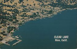 Clear Lake Postcard