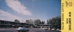 Valley Green Motel Large Format Postcard