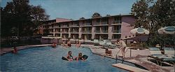 Howard Johnson's Motor Lodge Large Format Postcard