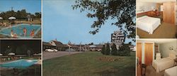 The Sands Motor Lodge Large Format Postcard