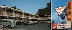 Empire Motel Large Format Postcard