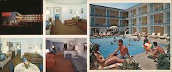 Quebec by the Sea A Luxury Resort Motel Large Format Postcard