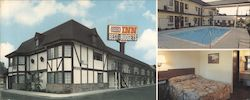 Sixpence Inns of America, Inc. Large Format Postcard