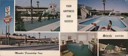 Desert Inn Motel Large Format Postcard