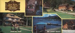 Trout House Village Resort Large Format Postcard