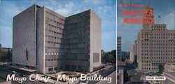 Mayo Clinic, Mayo Building, Mayo Clinic Plummer Building Large Format Postcard