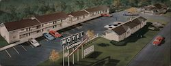 Motel Eastwood Large Format Postcard