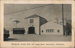 Mendocino County Fair and Apple Show Postcard
