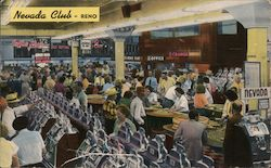 Nevada Club Postcard