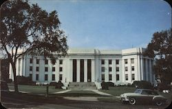Alabama State Highway Department Building Postcard