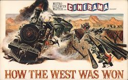 "The Great Train Robbery - Scene from ""How the West Was Won"" Postcard"