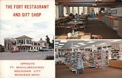 The Fort Restaurant and Gift Shop Postcard