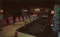 The Beaujolais Room - The Firehouse Inn Postcard