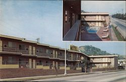 Hollywood Land Lodge - Apt. - Motel Postcard