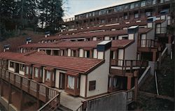 A Residential Area of Humboldt State University Postcard
